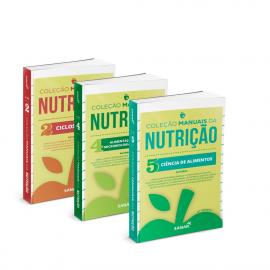 Coleção Manuais da Nutrição para Concursos e Residências (Volumes 2, 4 e 5 - 2ª Edição)