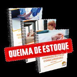 Apostilas do Farmacêutico Concurseiro - Volume 1, 2 e 3