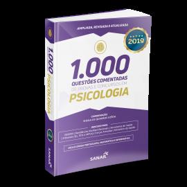 1.000 Questões Comentadas de Provas e Concursos em Psicologia 2019