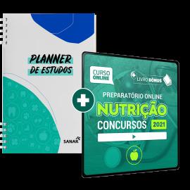 Preparatório Online para Concursos em Nutrição 2021 (Com Planner Bônus)