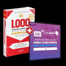 Preparatório Online para Concursos em Enfermagem 2020 (Com Livro Bônus) - 6 meses de acesso