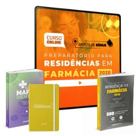 Preparatório Online Extensivo para Residências em Farmácia 2020 (Com 3 Livros Bônus)