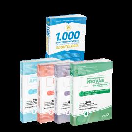Combo 2000 Questões - Preparatório para Provas em Odontologia