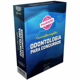 Curso Online Preparatório para Concursos em Odontologia (sem livro)