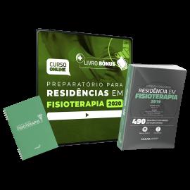 Preparatório Online Extensivo para Residências em Fisioterapia 2020 (Com Livro Bônus e Sanar Note) - 12 meses de acesso