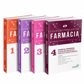 Coleção Manuais da Farmácia para Concursos e Residências (Volumes 1, 2, 3 & 4)