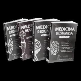 Coleção Medicina Resumida - Volumes 1, 2, 3 & 4