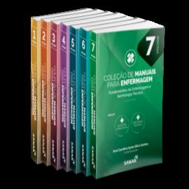 Coleção de Manuais para Enfermagem (Volumes 1, 2, 3, 4, 5, 6 & 7)