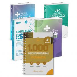 Combo Concurseiro em Farmácia (5 Livros)