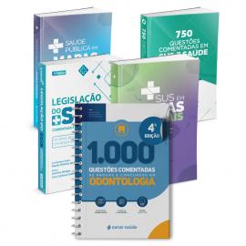 Combo Concurseiro em Odontologia (5 Livros)