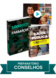 Farmácia: Combo preparatório para concursos dos Conselhos Regionais