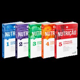 Coleção Manuais da Nutrição para Concursos e Residências (Volumes 1, 2, 3, 4 & 5)