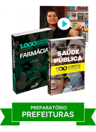 Farmácia: Combo Preparatório para Concursos de Prefeituras