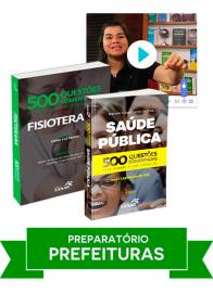 Fisioterapia: Combo Preparatório para Concursos de Prefeituras