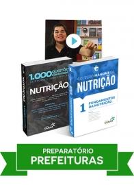 Nutrição: Combo Preparatório para Concursos de Prefeituras
