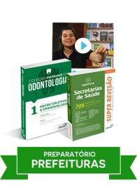 Dentista: Combo Preparatório para Concursos de Prefeituras