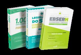 Combo Preparatório para Concurso EBSERH em Fisioterapia (Essencial)