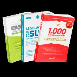Combo Preparatório para Concurso EBSERH em Enfermagem (Básico)