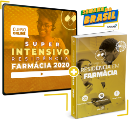 Super Intensivo Residências - Farmácia 2020 (com Livro Bônus)