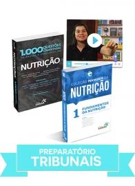 Nutrição: Combo preparatório para concursos de Tribunais