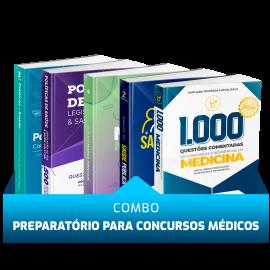 Combo SUS e Saúde Pública para Concursos Médicos