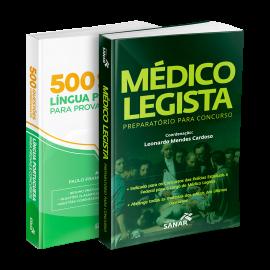 Combo Preparatório para Concursos de Médico Legista