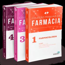 Coleção Manuais da Farmácia para Concursos e Residências (Volumes 1, 3 & 4)