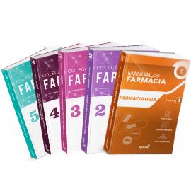 Coleção Manuais de Farmácia para Concursos e Residências (Volumes 1, 2, 3, 4 e 5)