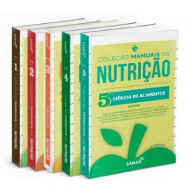 Coleção Manuais da Nutrição para Concursos e Residências (Volumes 1, 2, 3, 4 e 5)