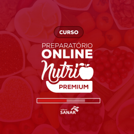 Preparatório Online para Concursos - Nutri Premium (sem livro)