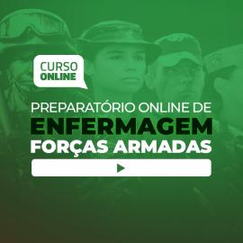 Preparatório Online para Forças Armadas em Enfermagem