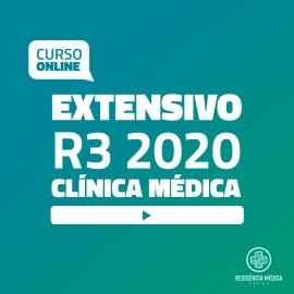 Extensivo R3 Sanar Residência Médica - Clínica Médica (2020)