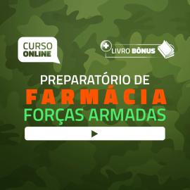 Preparatório Online para Concursos de Forças Armadas em Farmácia 2020 (Com Apostilas Bônus)