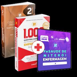 Preparatório Online para FeSaúde de Niterói em Enfermagem (com 2 livros bônus)