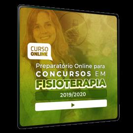 Preparatório Online para Concursos em Fisioterapia 2020 (Sem Livro Bônus) - 6 meses de acesso