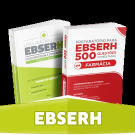 Farmácia: minicombo preparatório para Concursos EBSERH
