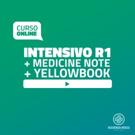 Intensivo Sanar Residência Médica - R1 (2019) + Yellowbook + Medicine Note