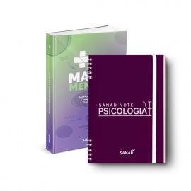 Sanar Note Psicologia + SUS em Mapas Mentais