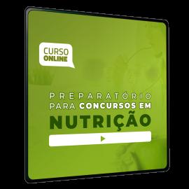 Preparatório Online para Concursos em Nutrição 2020 (Sem Livro)
