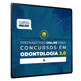 Preparatório Online para Concursos em Odontologia 2020 (Sem Livro Bônus) - 6 meses de acesso