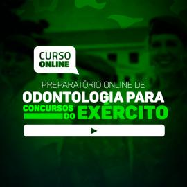Preparatório Online de Odontologia para Concursos do Exército