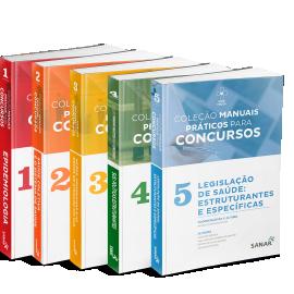 Coleção Manuais Práticos para Concursos (Volumes 1, 2, 3, 4 & 5)