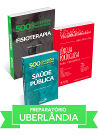 Fisioterapia: Combo preparatório para concurso da Fundasus Uberlândia (MG)