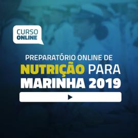 Preparatório Online de Nutrição Para Concursos da Marinha 2019 (sem livro)