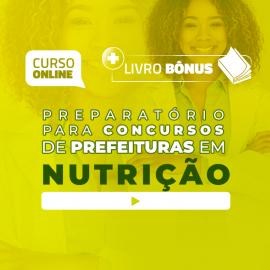 Preparatório Online para Concursos de Prefeituras em Nutrição 2020