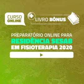 Preparatório Online para Residência SESAB em Fisioterapia 2020 (Com Livro Bônus)