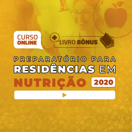 Preparatório Online para Residências em Nutrição 2020