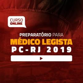 Preparatório Online para Concurso de Médico Legista - PC-RJ