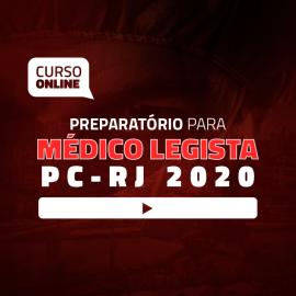 Preparatório Online para Concurso de Médico Legista 2020 - PC-RJ