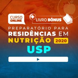 Super Revisão para Residência em Nutrição USP (com livro bônus) - 6 meses de acesso